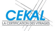 Certification Cekal vitrage isolant